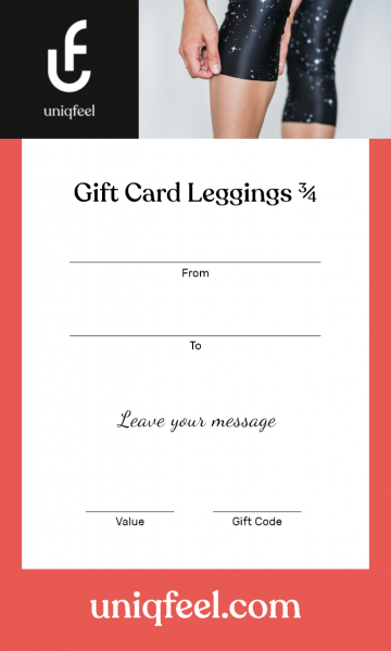 Gift Card Leggings Short